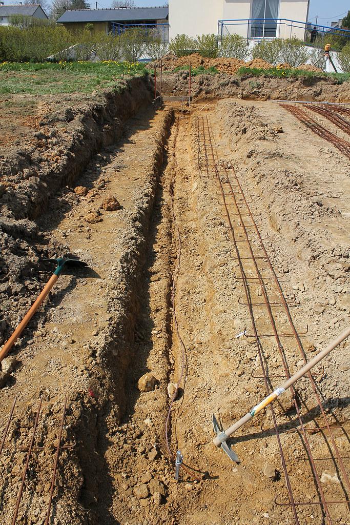 Prise terre boucle fond fouille angle sud est fabien et for Prise de terre fond de fouille