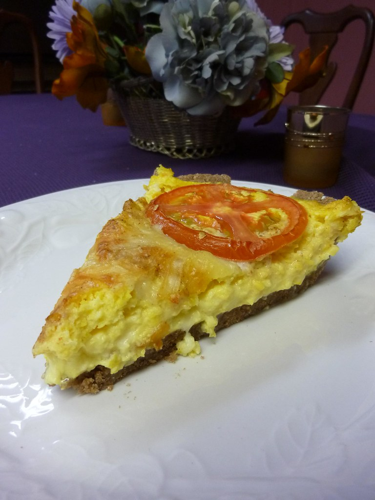 Corn Quiche Recipe In A Tef Crust Recipe — Dishmaps