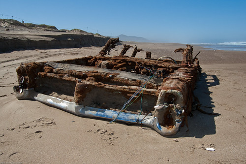1964 9-passenger according to latest comment // 1966 Pontiac Bonneville Rusted Abandoned | by mikebaird