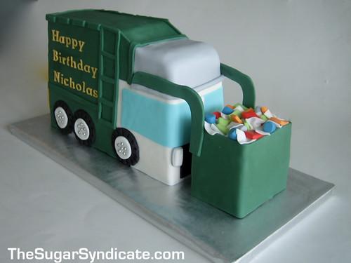 Truck Cakes Homemade