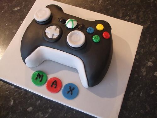 Xbox 360 Controller Cake Debbie Scott Flickr