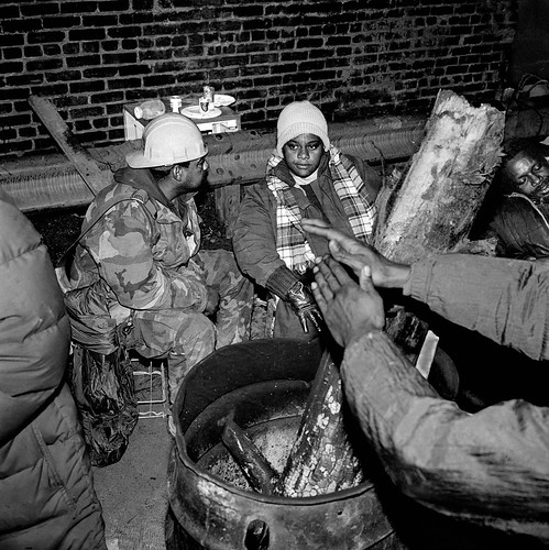 "The Firebarrel At Night: ""A Place Of Community"", Washington, DC 