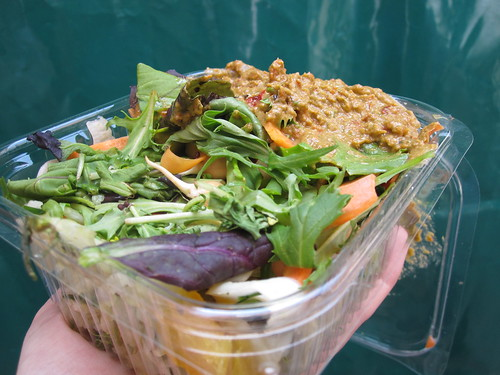 Raw Salad from Natasha's Living Foods - Temple Bar Food Market | by veganbackpacker