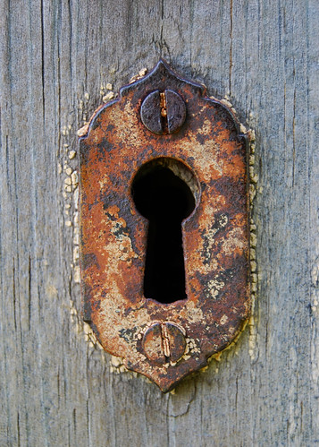 Keyhole A Rusty One I Love Keys And Keyholes