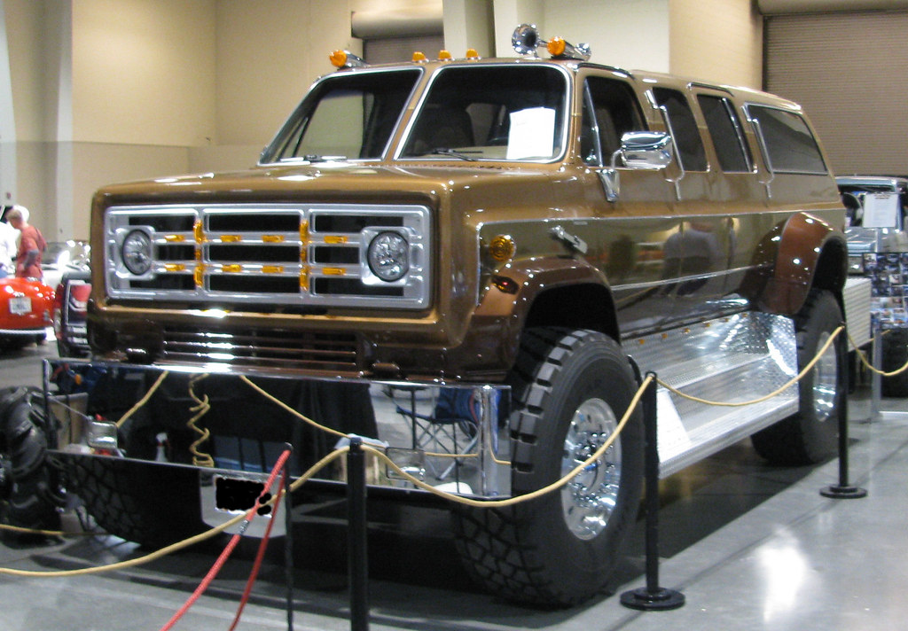 Chevy Kodiak Pickup >> Monster Suburban | Spotted at the 2010 Autorama. | Eyellgeteven | Flickr