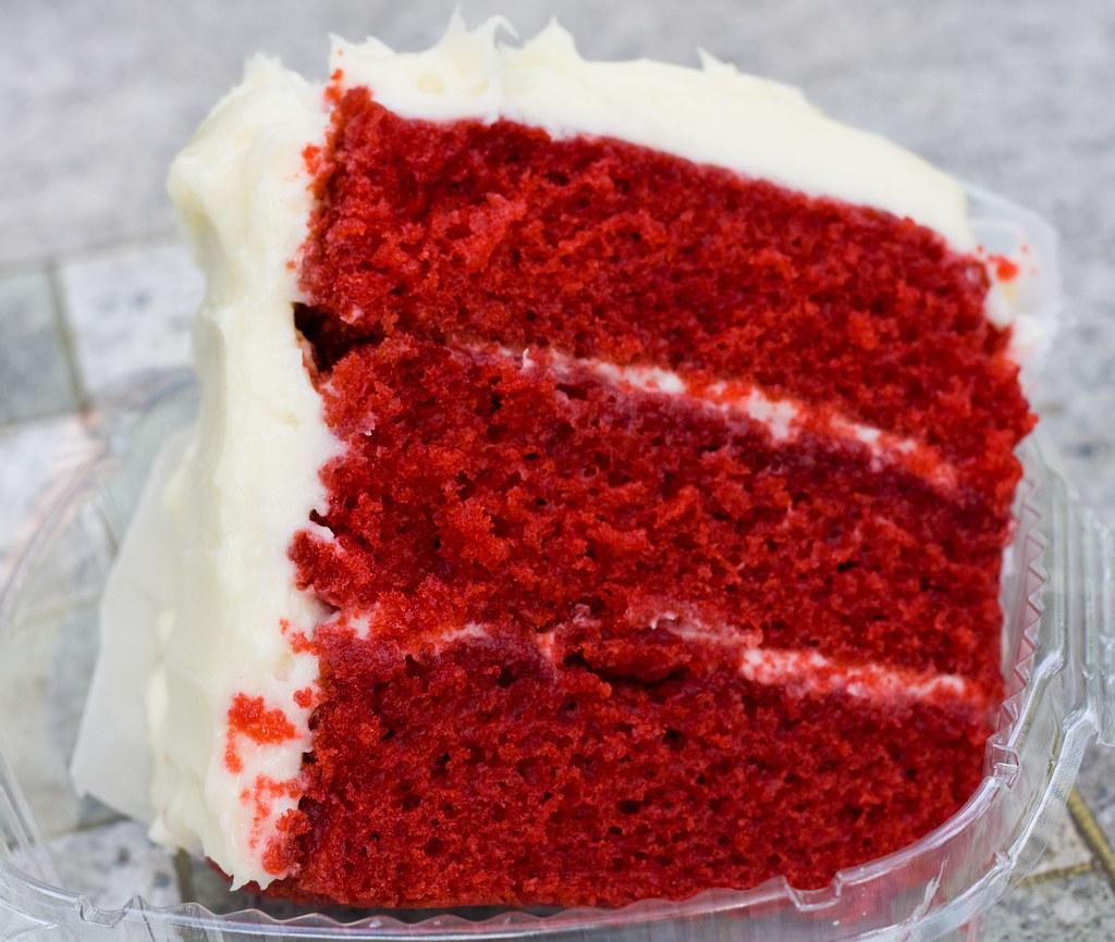 Red Velvet Cake Box Brownies