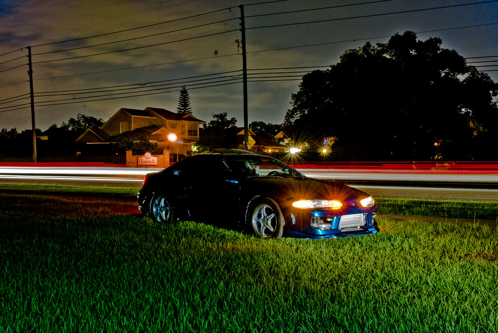 4G63 Turbo Eclipse long exposure | This picture didn't out a… | Flickr