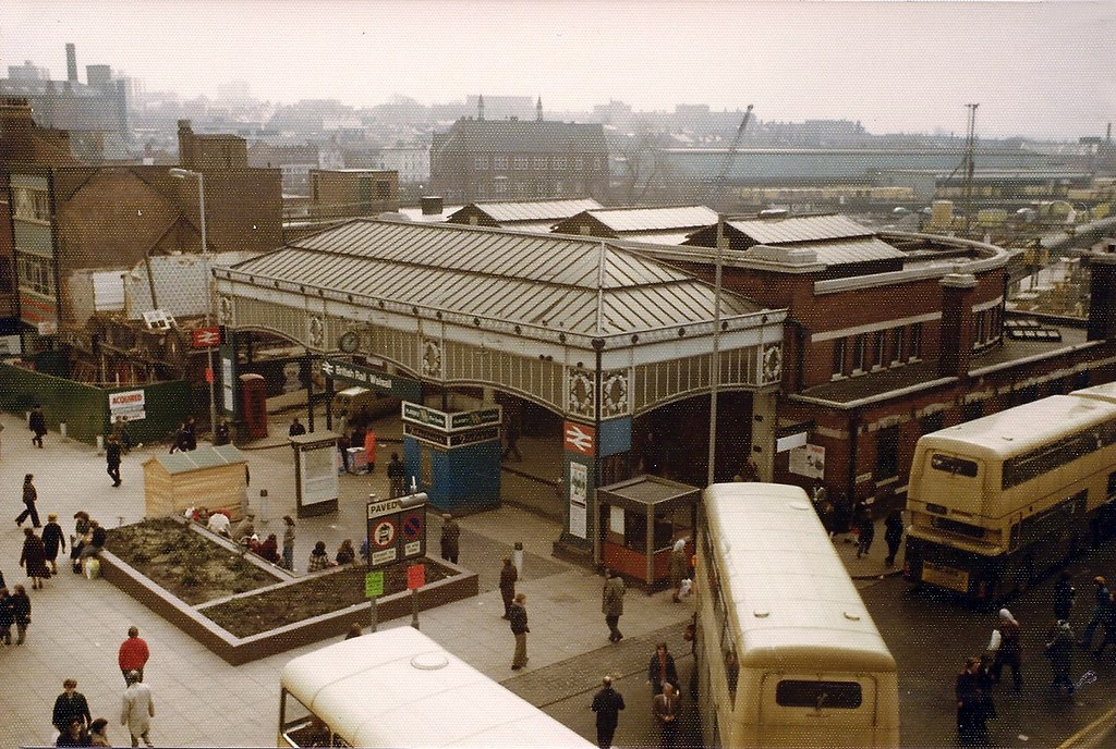 Old Railway Station Park Street Walsall 1978 Photo Taken
