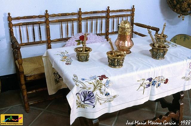 Utensilios, muebles y ajuar para la casa - Exposición 750 ...
