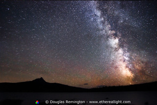The Bigger Picture. The Milky Way and Mt. Washington | by Douglas Remington - Ethereal Light® Photography