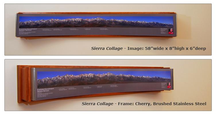 Custom Frame Spec: CURVED Frame for Sierra Collage Panoram… | Flickr