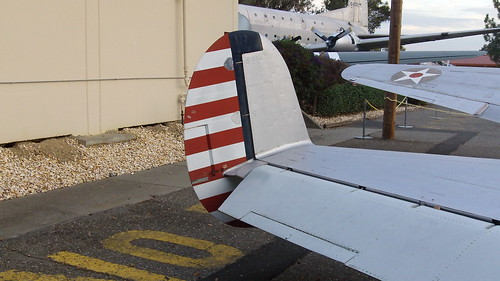 Beech AT-11 aft view, tail, rudder, elevator, trim tab, aileron, wing | by MultiplyLeadership