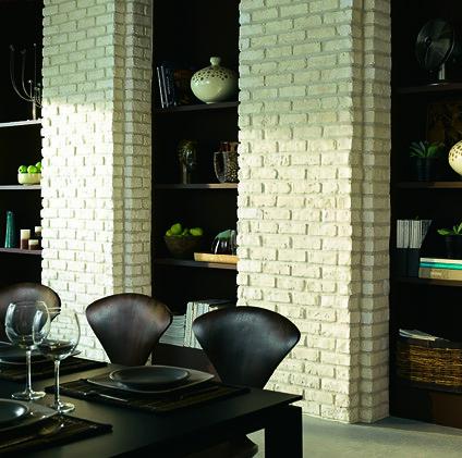 La brique s\'invite dans la salle à manger | Castorama | Flickr