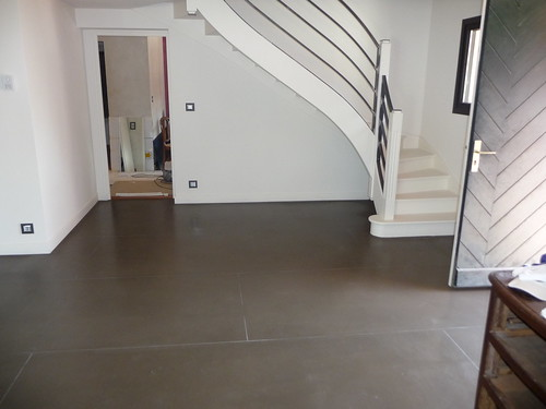 sol b ton cir s jour brun soutenu batife beton flickr. Black Bedroom Furniture Sets. Home Design Ideas