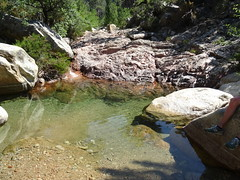 La vasque de la traversée du Ricu