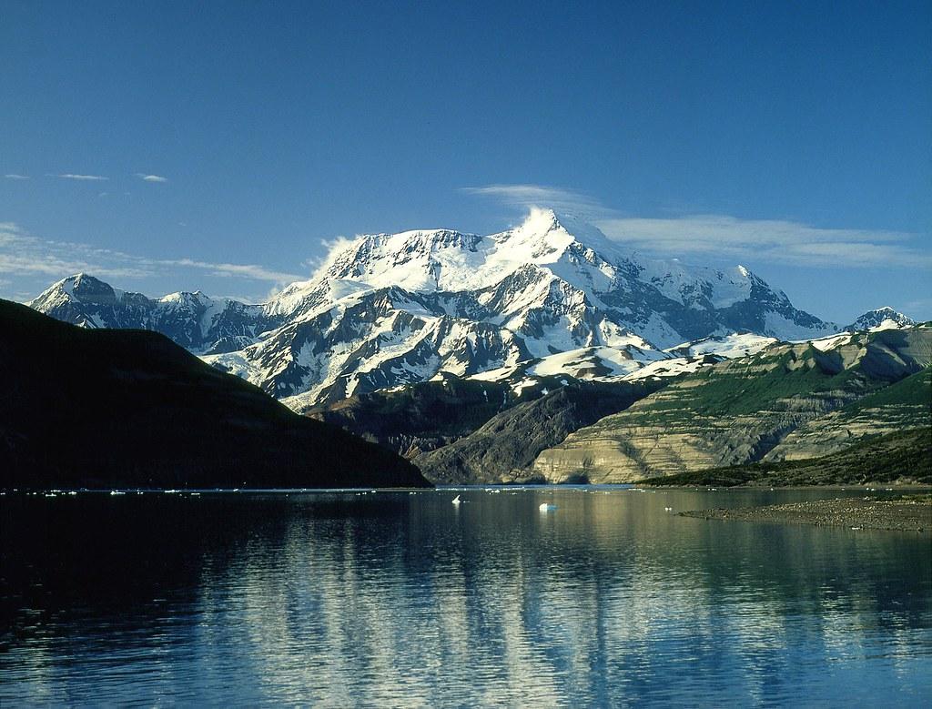 Mount Saint Elias, from Icy Bay, Gulf of Alaska – Alaska | Flickr