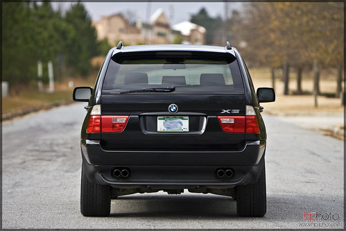 Bmw 2004 X5 4 4i Black Rear Halston Pitman
