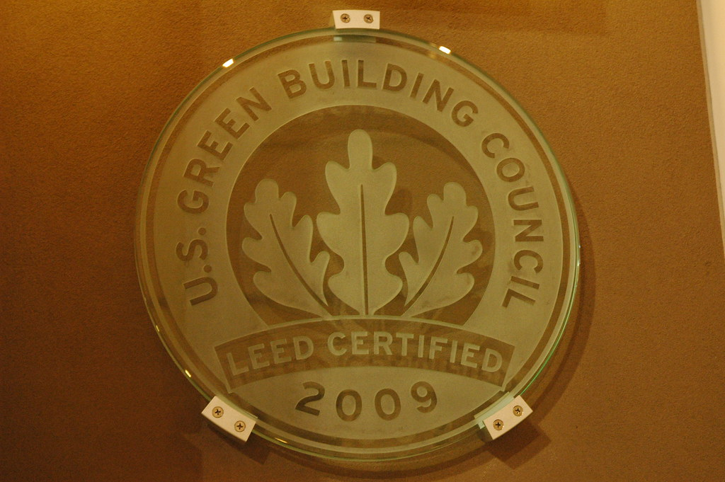 U s green building council leed certified logo 2009 for Benefits of leed certified buildings