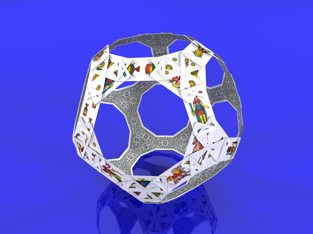 how to make a 3d truncated dodecahedron