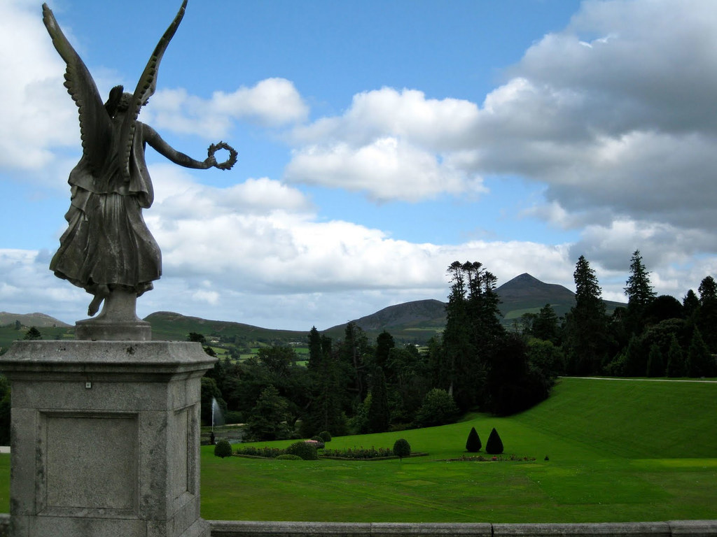 Sculpture Garden Sculptures Collected From Around Europe