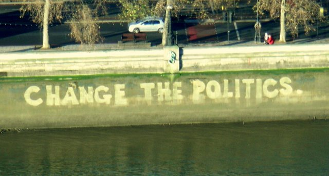change the politics