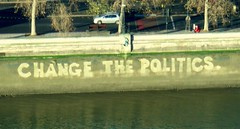 Change the politics | by TheCreativePenn