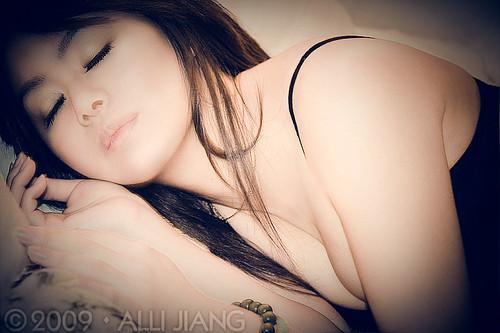 Sleeping Moon | model & makeup: Moon Chow; ©2009 Alli ...