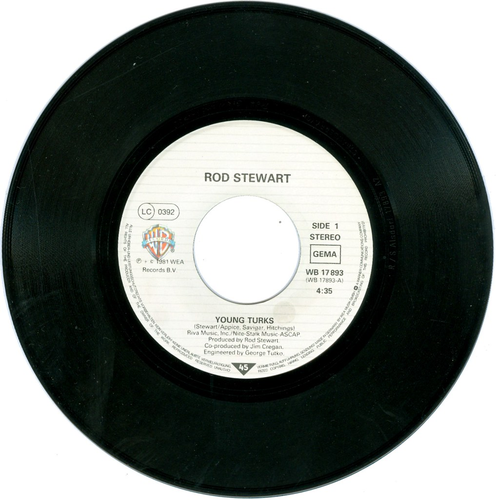 Rod Stewart Young Turks Sonny