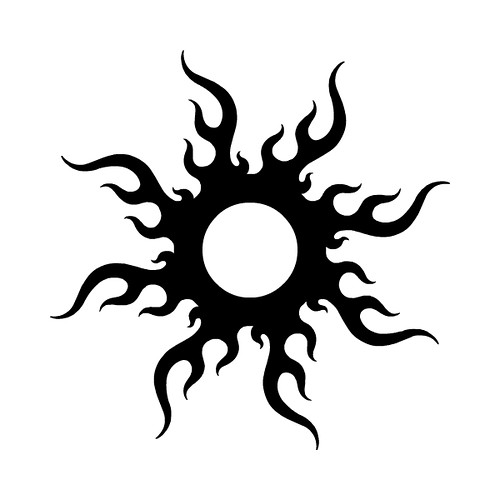 tatovering sol