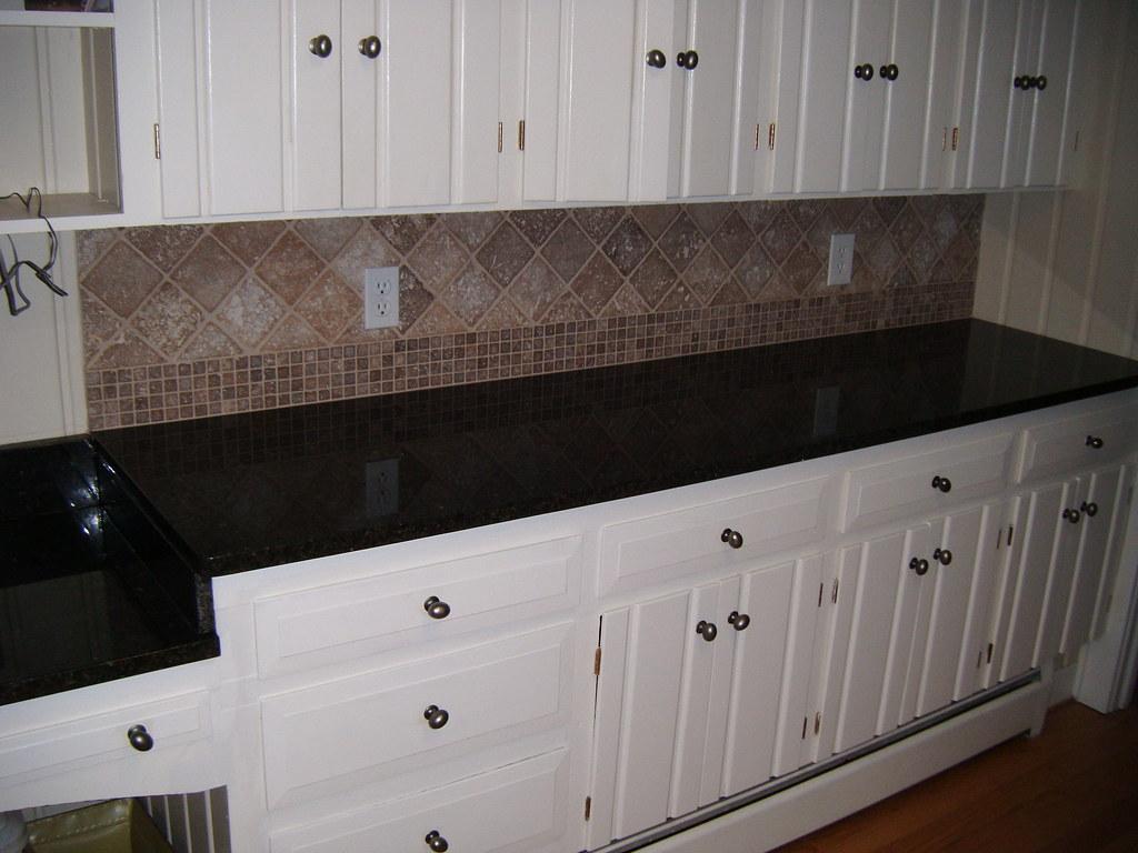 Peel Stick Backsplash Tiles Kitchen
