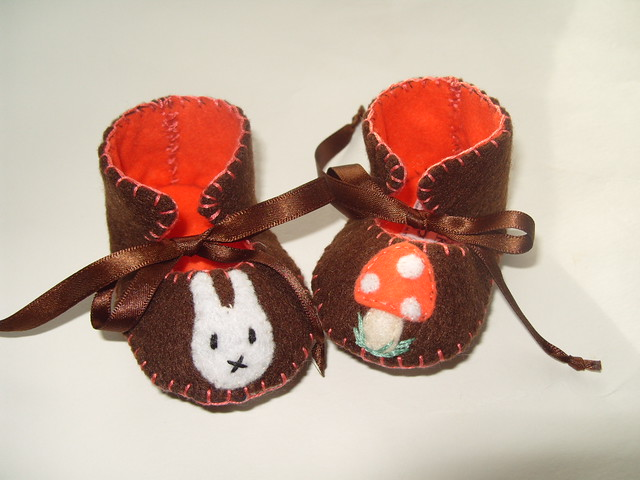 Fabric Baby Shoes Pattern