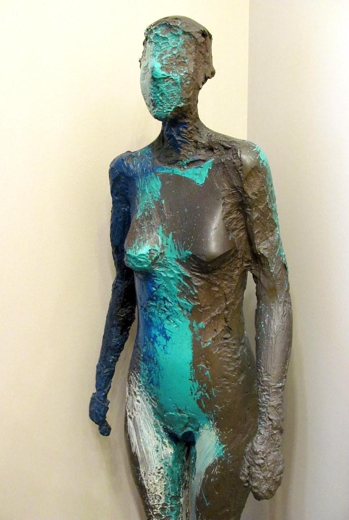 Manuel Neri | Catun No. 3, 1986. Bronze with oil paint ...