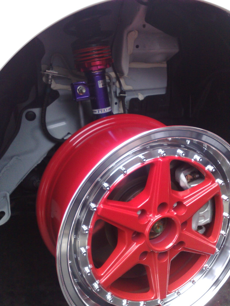 Nissan Cube Checking Fit Of 15x7 Rim Xxr 501 And