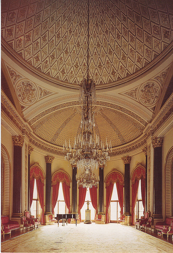 Buckingham Palace The Music Room Magnificent Neo