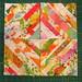 vintage sheet string quilt blocks