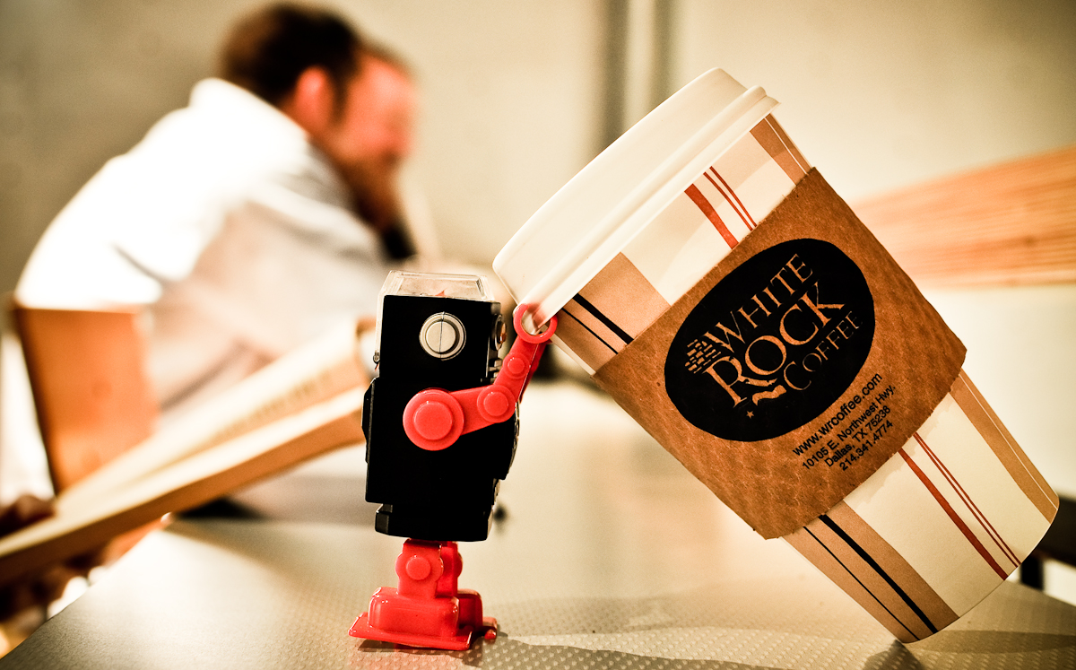 robot coffee break artificial intelligence