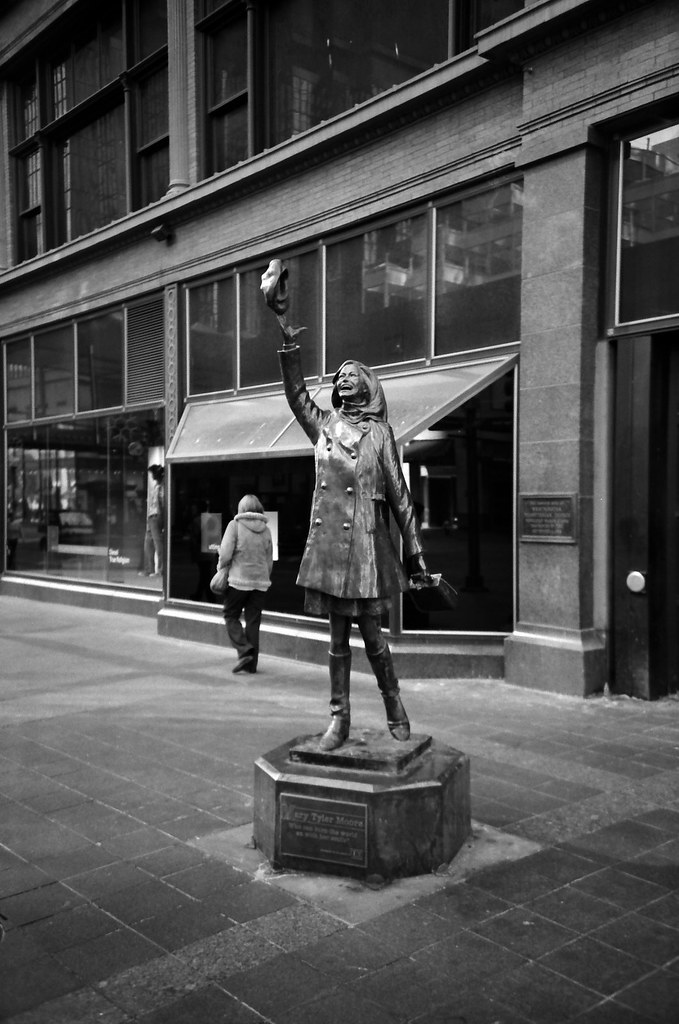 Minneapolis >> Mary Tyler Moore | Taken with a Lomo LC-A+; Minneapolis, MN … | Flickr