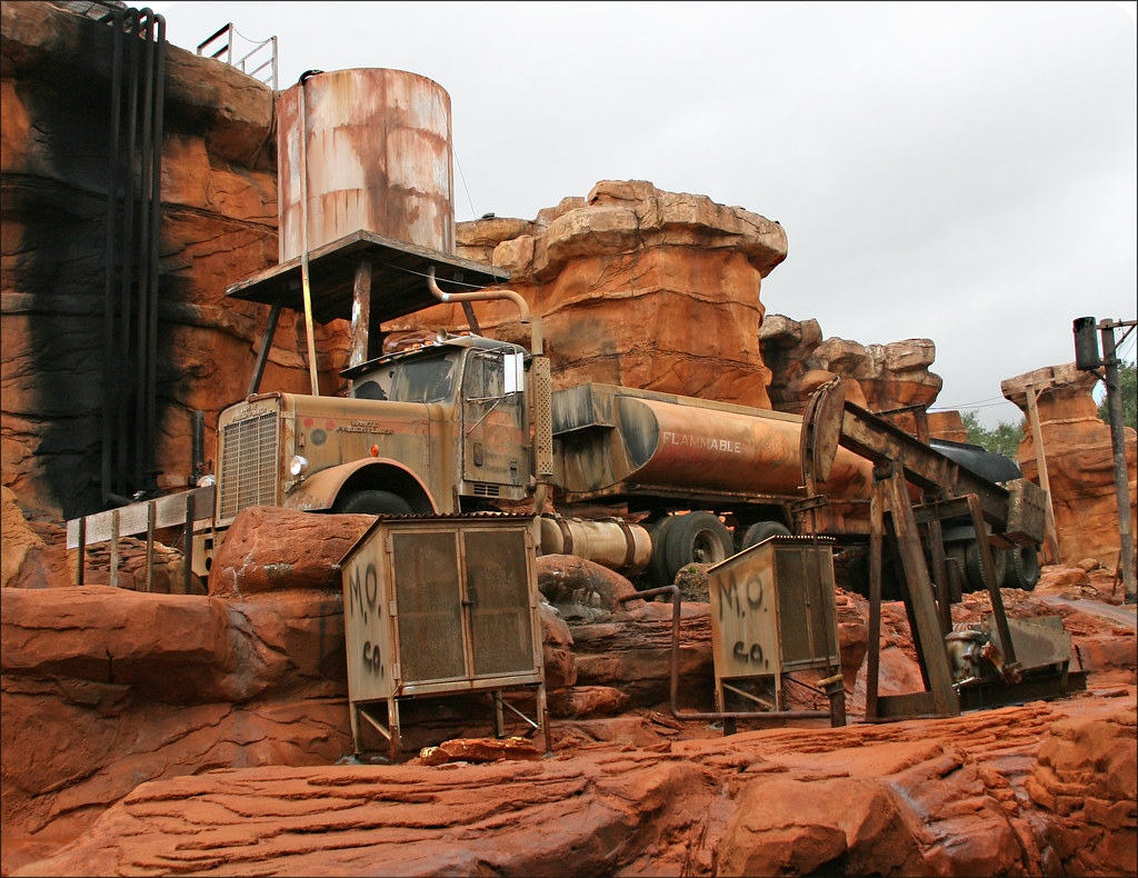 Tram Ride >> Catastrophe Canyon, Disney's Hollywood, Walt Disney World,… | Flickr