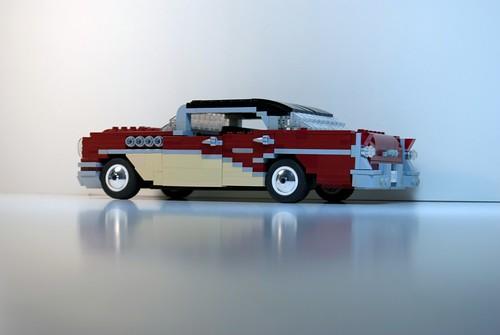 Buick 1955 century riviera 4 door hardtop design study for 1955 buick century 4 door hardtop