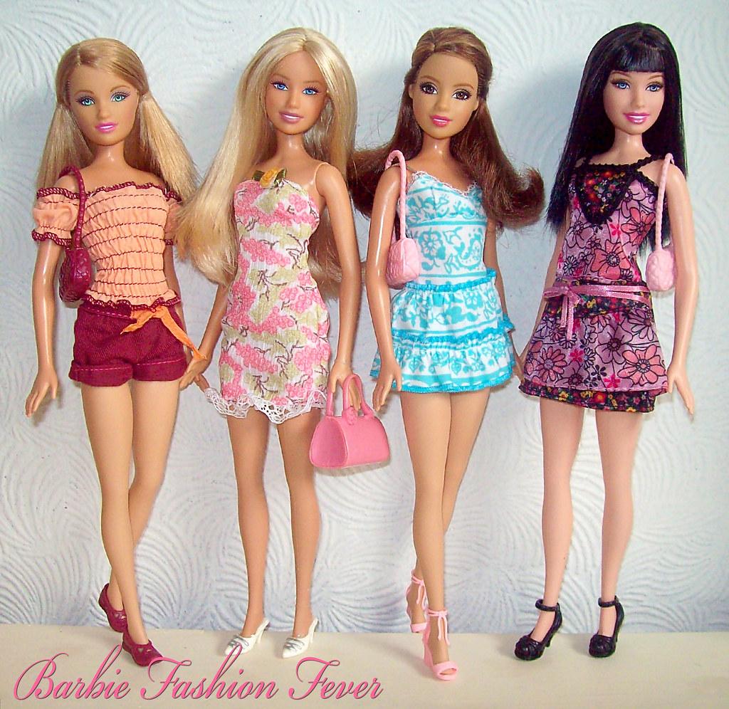 Barbie Fashion Fever Spring Summer Style Summer Barbie T Flickr