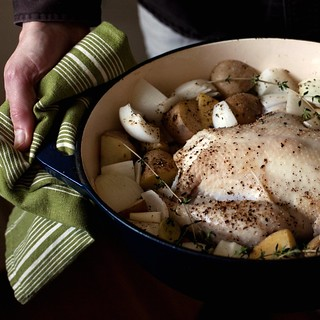 River Cottage pot-roast chicken | by Married with Dinner