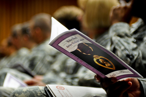 Warriors in Transition Purple Heart Ceremony | by The U.S. Army