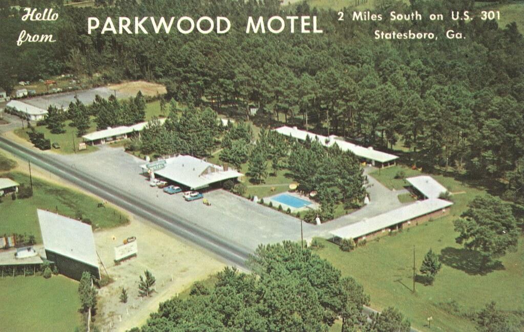 Parkwood Motel & Restaurant - Statesboro, Georgia