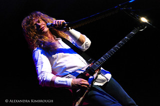 Dave Mustaine | by Alexandra Kimbrough