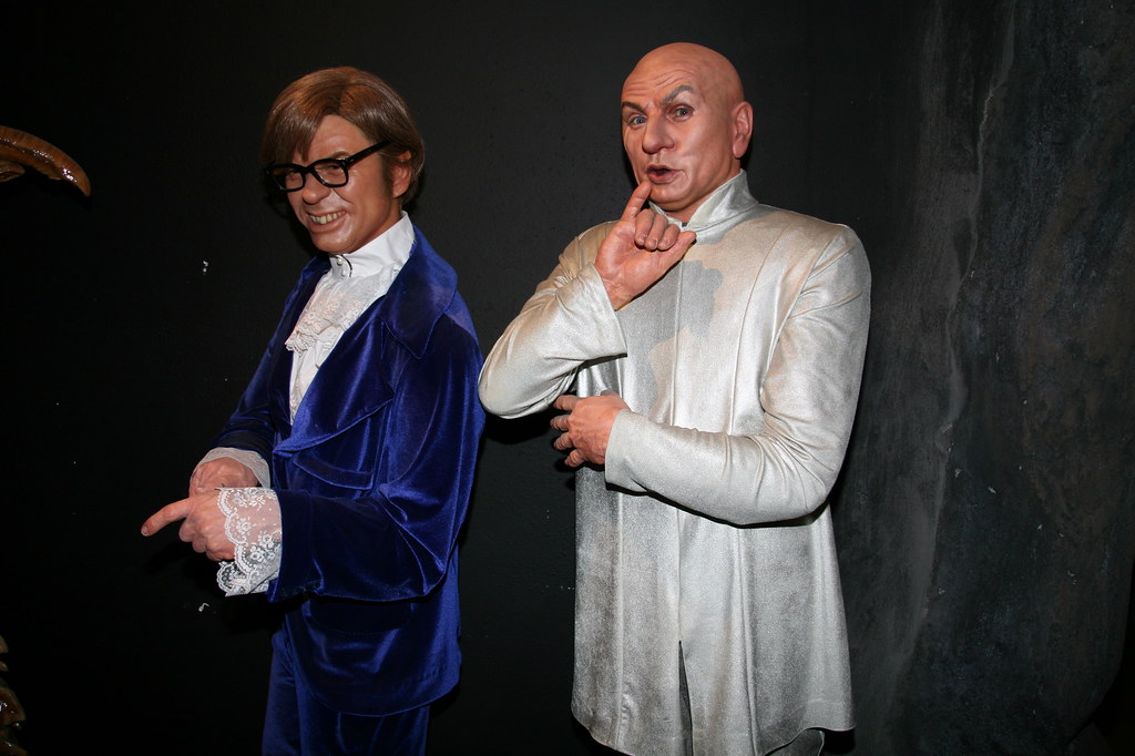 mike myers as austin powers and dr evil cliff flickr