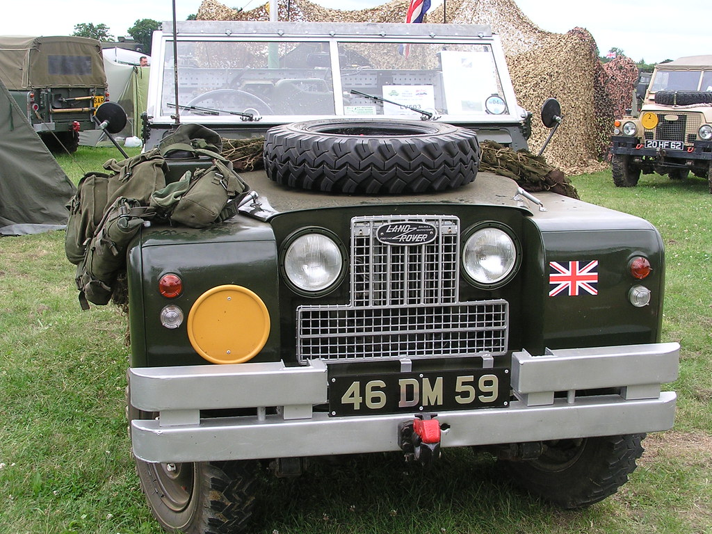 Series 2a Military Land Rover War And Peace Show 2009