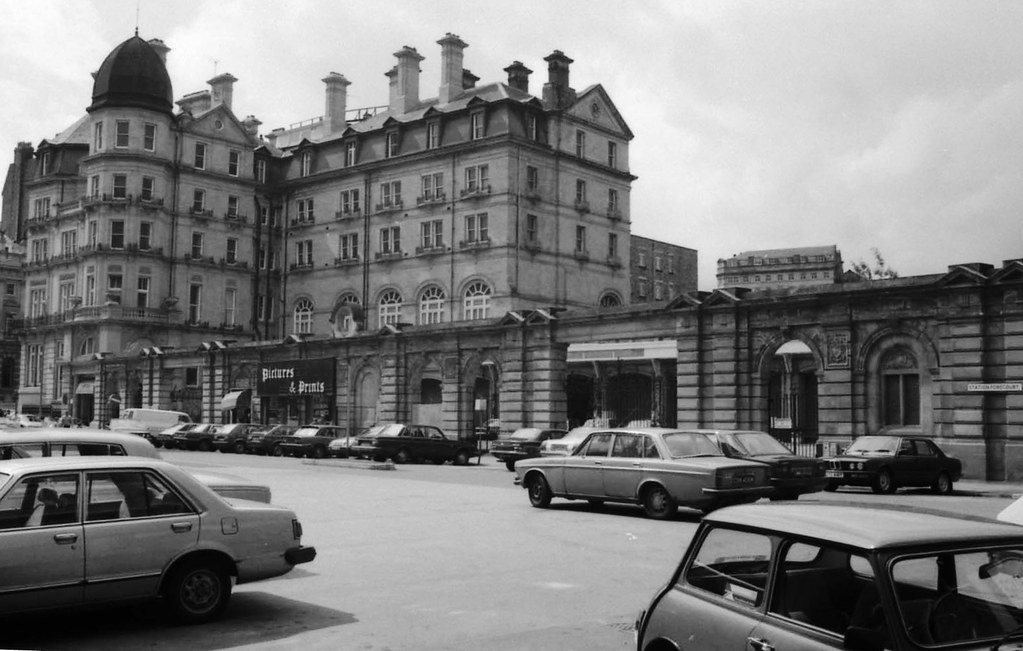 Bradford Forster Square West Yorkshire 1985 The First