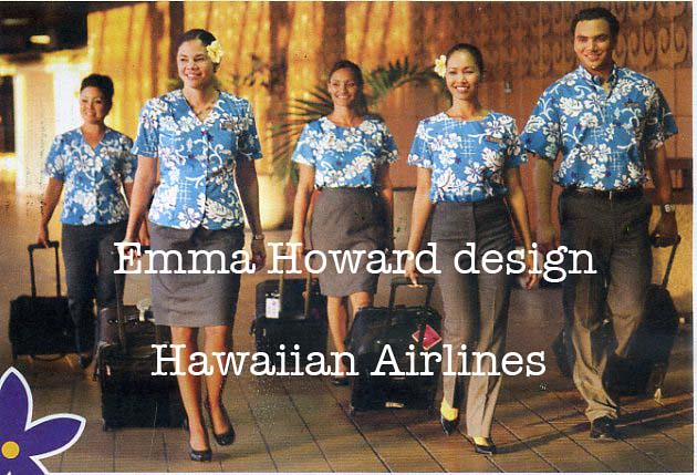 Hawaiian Airlines New Uniform Design Hawaiian Airlines
