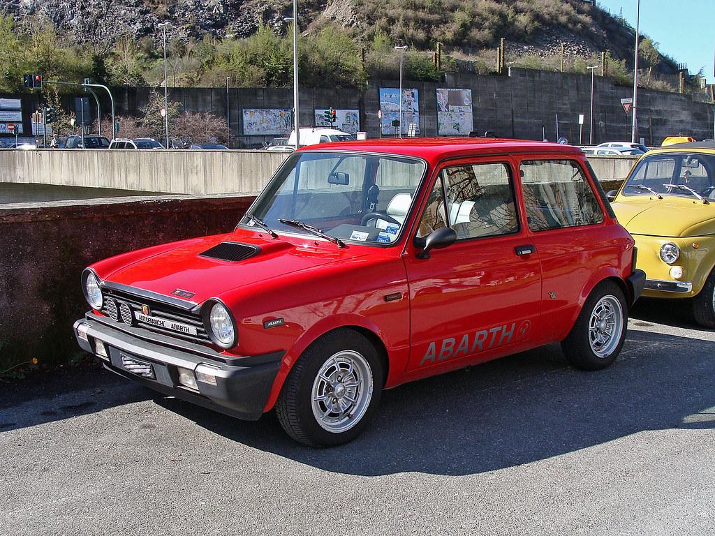 Autobianchi A112 Abarth 70hp Maurizio Boi Flickr