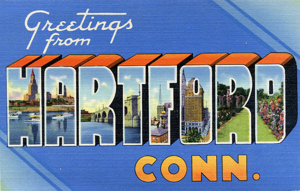 greetings from hartford  connecticut